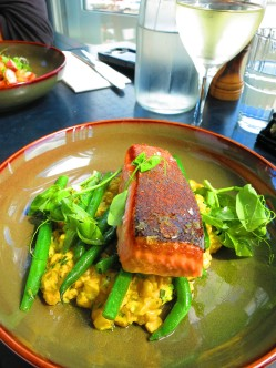 Grilled Salmon - Cerberus Beach House